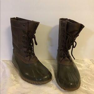 Madden Girl Women's Flurry Duck Boots Waterproof